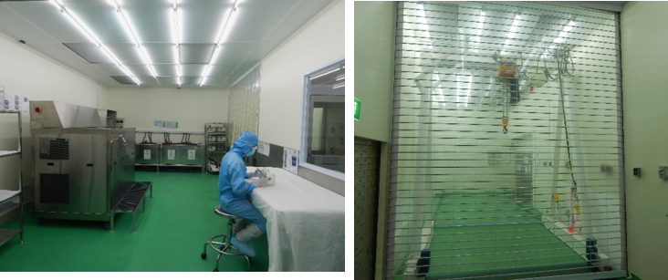Cleanroom facilities