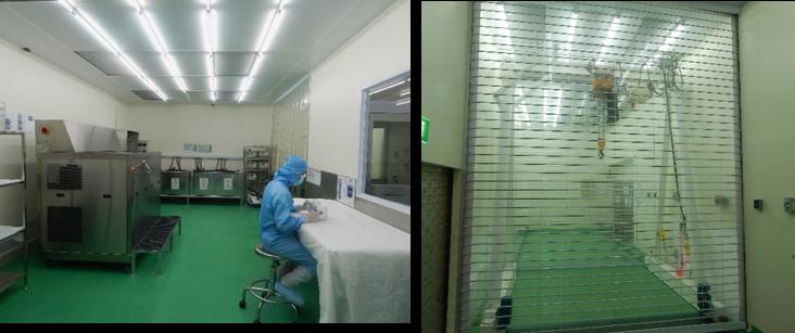 Cleanroom facilities